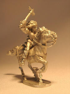 18008 Alanfanian Light Cavalrywoman Mounted - Leisure Games