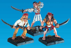 19322 Female Pirate Warriors (3) - Leisure Games
