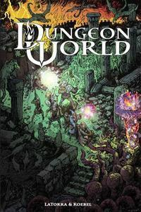 Dungeon World (revised, current printing) + complimentary PDF