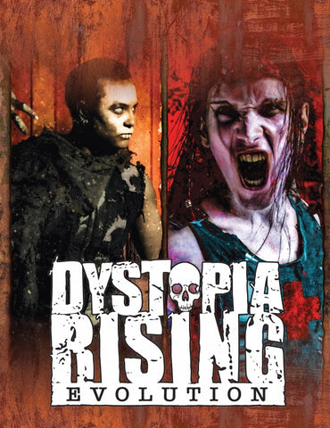 Dystopia Rising: Evolution Storyguide Screen