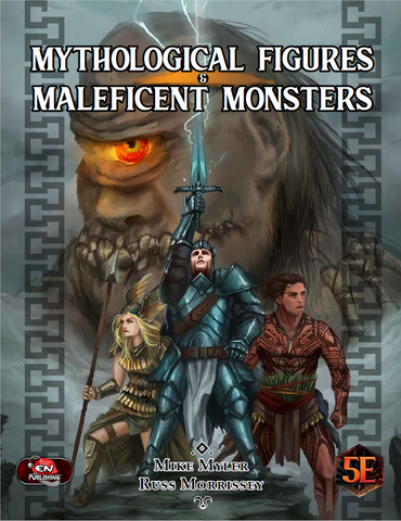 Dungeons & Dragons RPG: Mythological Figures & Maleficent Monsters