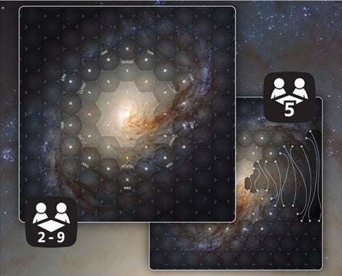 Eclipse Second Edition: Dawn for the Galaxy Playmat (expected in stock on 4th August)
