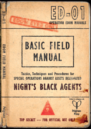 Night's Black Agents: The Edom Field Manual + complementary PDF