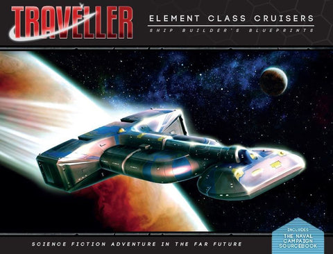 Traveller: Element Class Cruisers - Shipbuilder's Blueprints + complimentary PDF