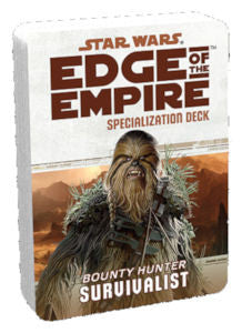 Star Wars Edge of the Empire: Survivalist Specialization Deck