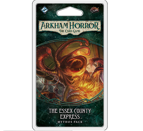 Arkham Horror The Card Game: The Essex County Express Mythos Pack - Leisure Games