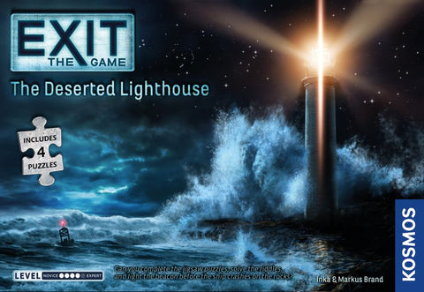 Exit: The Game + Puzzle - The Deserted Lighthouse