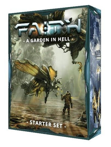 Faith RPG: A Garden In Hell - Starter Set