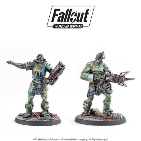 Fallout: Wasteland Warfare - Super Mutants: Fist & Overlord