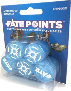 Fate Point Tokens: Accelerated Core Blue
