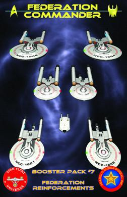 Federation Commander Booster 7: The Federation