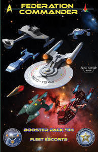 Federation Commander Booster 34: Fleet Escorts