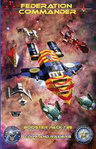 Federation Commander Booster 35: Cops & Raiders