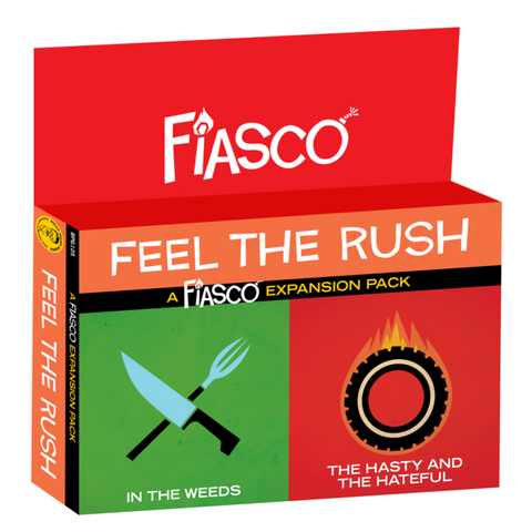 Fiasco: Feel the Rush Expansion Pack
