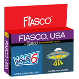 Fiasco: Fiasco, USA Expansion Pack - pre-order (expected Q1 2020)