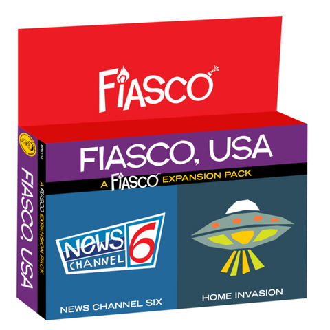 Fiasco: Fiasco, USA Expansion Pack