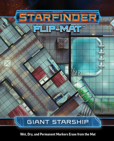 Starfinder Flip-Mat: Giant Starship (expected in stock on 27th October)