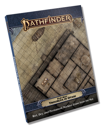 Pathfinder Flip-Mat: Troubles in Otari (expected in stock on 26th January)