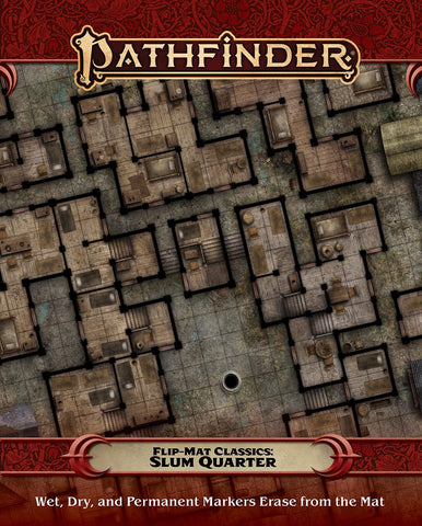 Pathfinder Flip-Mat Classics: Slum Quarter (expected in stock on 26th January)