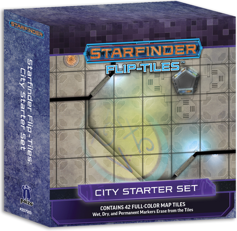 Starfinder Flip-Tiles: City Starter Set (expected in stock on 24th November)