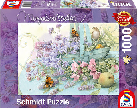 Jigsaw: Flower Basket by Marjolein Bastin (1000pc)