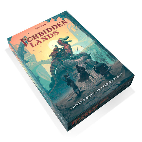 Forbidden Lands Core Boxed Set (2nd Edition) + complimentary PDF