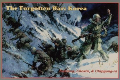 The Forgotten War: Korea (Decision Games)