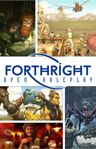 Forthright Open Roleplay Core Rulebook + complimentary PDF