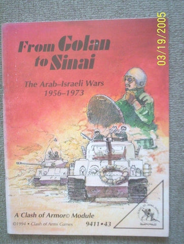 From Golan to Sinai. The Arab-Israeli Wars 1956-1973