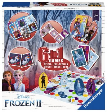 Frozen 2, 6-in-1 Games