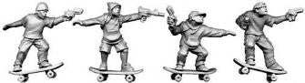 FW6 Skateboarders with Guns