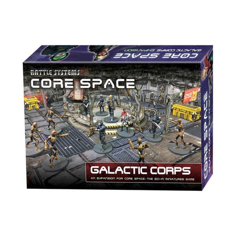 Core Space Expansion: Galactic Corps