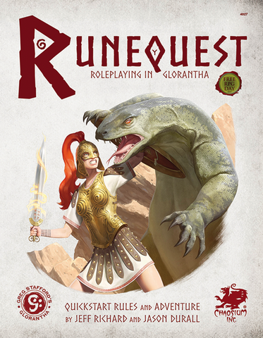 RuneQuest: Roleplaying in Glorantha Quickstart
