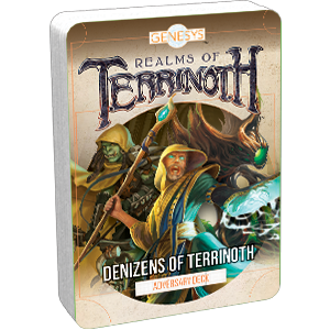 Realms of Terrinoth (Genesys): Denizens of Terrinoth Adversary Deck