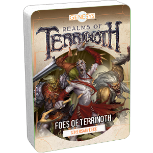 Realms of Terrinoth (Genesys): Foes of Terrinoth Adversary Deck