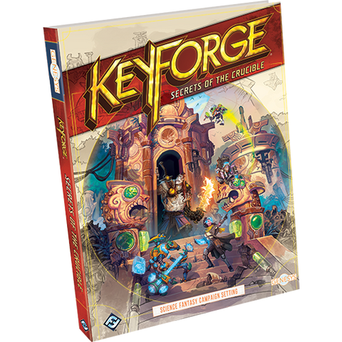 Genesys RPG - KeyForge: Secrets of the Crucible