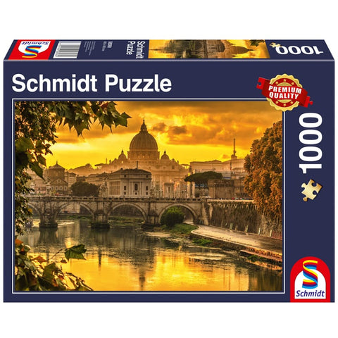 Jigsaw: Golden Light over Rome (1000pc)