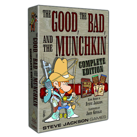 Munchkin: The Good, the Bad and the Munchkin Complete Edition