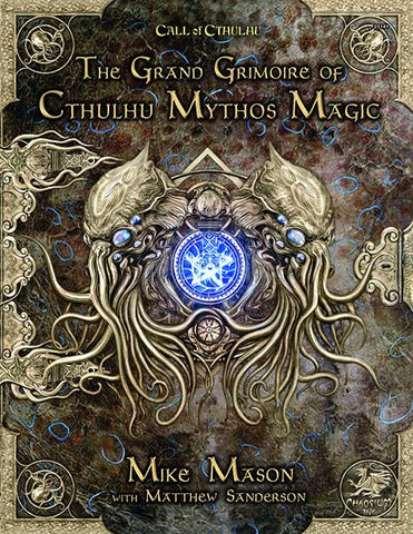 Call of Cthulhu 7th Edition: Grand Grimoire of Cthulhu Mythos Magic + complimentary PDF - Leisure Games