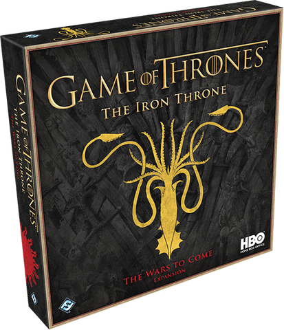 A Game of Thrones: The Iron Throne - The Wars to Come Expansion - Leisure Games