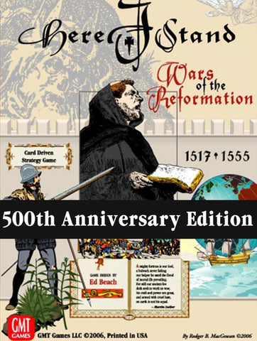 Here I Stand 500th Anniversary Reprint