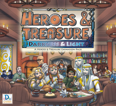 Heroes & Treasure: Darkness & Light - reduced