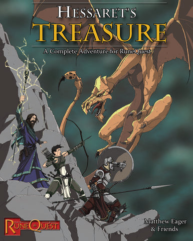 Mythras: Hessaret's Treasure
