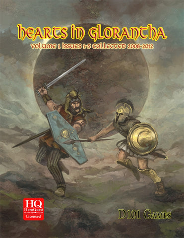 Hearts in Glorantha issues 1-5 Collected