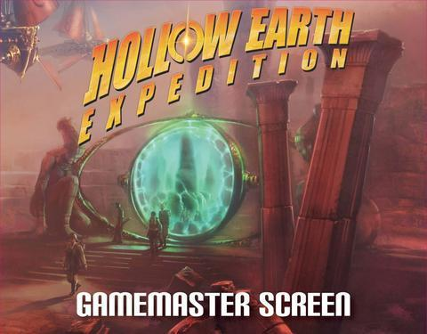 Hollow Earth Expedition: Revelations of Mars Gamemaster Screen with Adventure