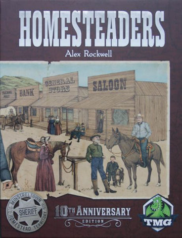 Homesteaders: 10th Anniversary Edition (expected in stock on 24th September)