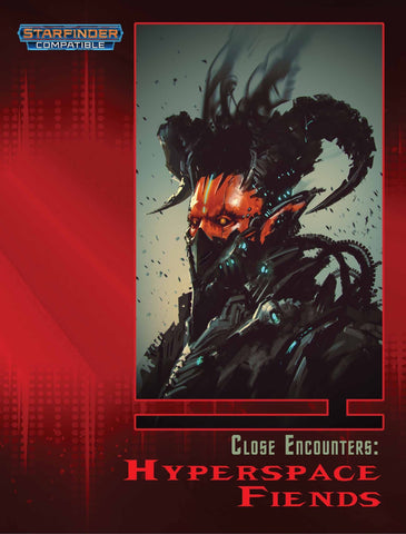 Close Encounters: Hyperspace Fiends (Starfinder Compatible) - Leisure Games