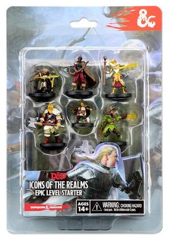 D&D Miniatures: Icons of the Realms Epic Level Starter - Leisure Games