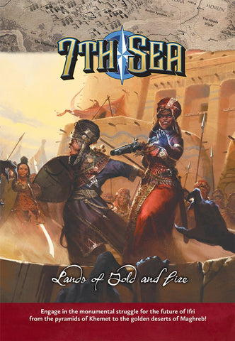 7th Sea: Lands of Gold and Fire - Leisure Games