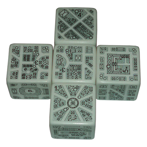 DungeonMorph Dice: Cities Set